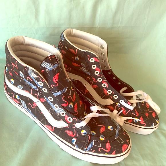 b66d771f27 Vans Flamingo Old Skool Hi US Men s 11. M 5b11ad65de6f626d5c9711a2